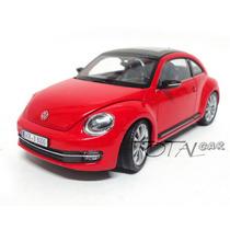 Volkswagen Beetle Novo 1:24 Welly Promoção Raridade