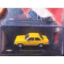 Miniatura Coleção Chevrolet Chevette Sl 1979 Nacionais