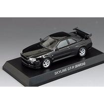 Nissan Skyline Gt-r (bnr 34) Kyosho 1/64
