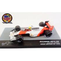 Miniatura F1 Mclaren Mp4/5b Ayrton Senna 1990 - Esc 1:43