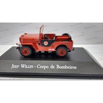 Veículos De Serviço Jeep Willys Bombeiros