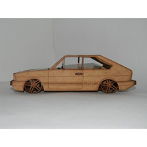Miniatura Vw Passat Pointer G1 Mdf ( Vw Quadrado Volks Vw )