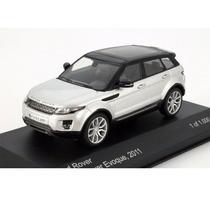 Land Rover Range Rover Evoque Year 2011 Silver / Black 1:43