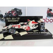 1:43 Minichamps Honda Ra106 2006 Rubens Barrichello