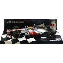 1:43 Minichamps Mclaren Mercedes Mp4-27 Hamilton 2012