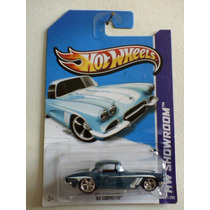 62 Corvette Super Th - Treasure Hunt Hot Wheels 2013