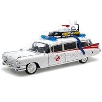 Cadillac Caça Fantasmas Ghostbusters Ecto-1 Hot Wheels Bcj75