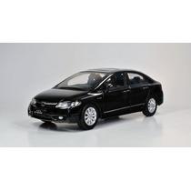 Miniatura Honda Civic - 1/18 - Super Detalhada