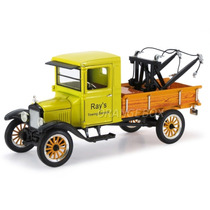 Ford 1925 Model Tt Tow Truck Guincho Signature 32389-amarelo