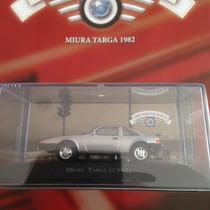Coleção Carros Inesquecíveis Do Brasil Edição 51 Miura Targa