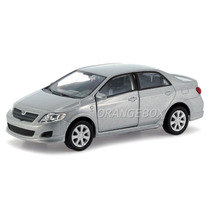 Toyota Corolla 2009 1:39 Welly 43608-prata