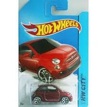 Carrinho Hot Wheels Fiat 500 Coleção 2014