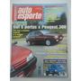 Auto Esporte #391 Ano 1997 Gol 5 Portas X Peugeot 306