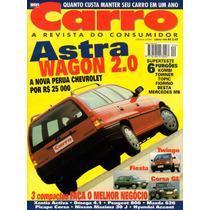 Revista Carro Nº20 Astra Wagon Twingo Kombi Towner Topic Mb