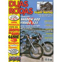 Duas Rodas N°284 Mai/1999 Shadow 600 Virago 535 Bmw K1200 Lt