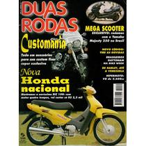 Duas Rodas N°271 Abr/1998 Honda Biz 100 Yamaha Majestry 250