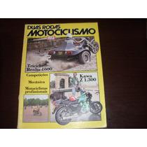 Revista Duas Rodas Motociclismo Novembro 1979