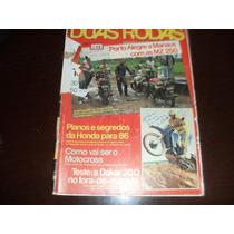 Revista Duas Rodas Motociclismo Janeiro 1986