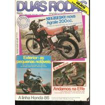 Revista Duas Rodas Nº 124 - Nova Agrale 200 Cc