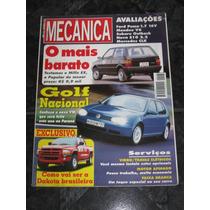 Revista Oficina Mecânica Janeiro 1998 Nº 136 - Dodge Dakota