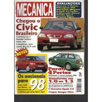 Revista Oficina Mecânica Nº 133-ano12-civic Brasileiro-sisal
