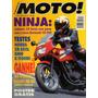 Moto! N°14 Kawasaki Ninja Ex 500 Honda Xr 650l Bmw K 1100rs