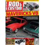 Revista Rod & Custom Nº25 (maverick V8/fusca Hot/pick-up Rat
