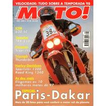 Moto! N°38 Especial Paris Dakar Ktm 620 Sc Yamaha Trx 850