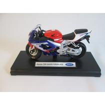 Miniatura Replica Moto Honda Cbr 900rr Fireblade !!!