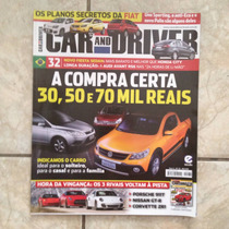 Revista Car And Driver 32 A Compra Certa Carros Rivais