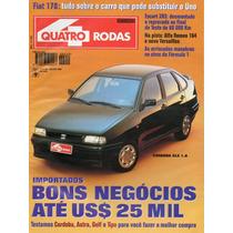 Revista Quatro Rodas Nº420 (cordoba Alfa 164 Astra Golf Tipo