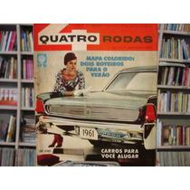 Revista Quatro Rodas Nº 6 - Ano 1 Janeiro 1961 - Raríssima!