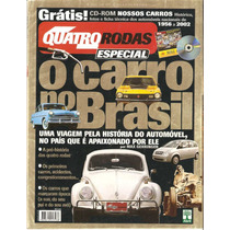 Revista Quatro Rodas - Carros Do Brasil, De Colecionador