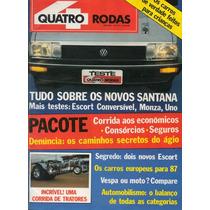 Revista Quatro Rodas Nº317 (santana, Escort, Monza, Uno)