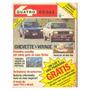 Revista 4 Rodas #254 Jun-82 - Parati Chevette Cuore