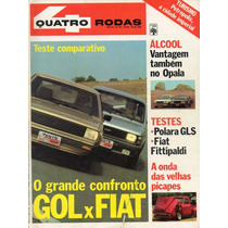 Revista Quatro Rodas Nº240 (gol, Fiat, Opala, Polara Gls)