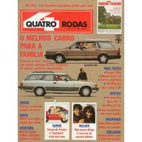 Revista Quatro Rodas Nº336 (caravan Diplomata 4.1, Quantum)