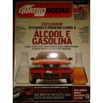 Revista Quatro Rodas Abril De 2003 Golf Gti Mercedes Senna