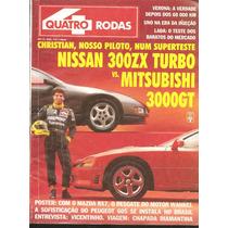 Revista Quatro Rodas Maio / 92 N° 384 - Nissan E