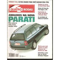 Revista Quatro Rodas Outubro De 1995 - N°423 - Nova Parati
