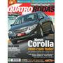 Quatro Rodas Nº570 Corolla Vectra Gt Mustang Gt500 Gol Rally