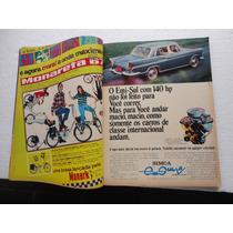 Revista 4 Rodas Antiga Poster Monareta/ford/aero Willys/