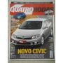 Quatro Rodas #624 Ano 2011 Novo Civic