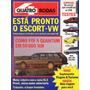 Quatro Rodas Nº324 Julho 1987 Quantum Uno 1.5r Ibiza Voyage