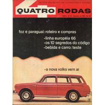 Quatro Rodas Nº64 Novembro 1965 Linha Européia 66