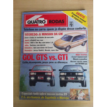 Quatro Rodas Fevereiro 1989 Gol Gts Gti