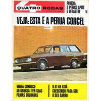 Quatro Rodas Nº103 Fevereiro 1969 Ford Perua Corcel Belina