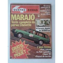 Revista 4 Rodas Outubro 1980 Nº 243 - Marajo