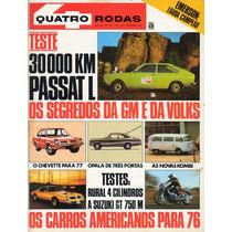Quatro Rodas Nº182 Setembro 1975 Rural 4cil Passat L Suzuki