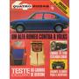 Quatro Rodas Nº138 Janeiro 1972 Gurgel Xavante Bertone Alfa
